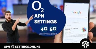 o2 apn settings free fast internet